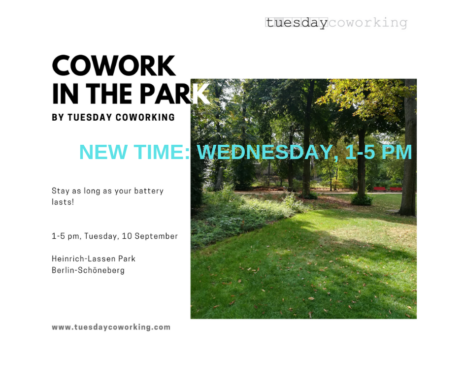 Cowork in the Park 1