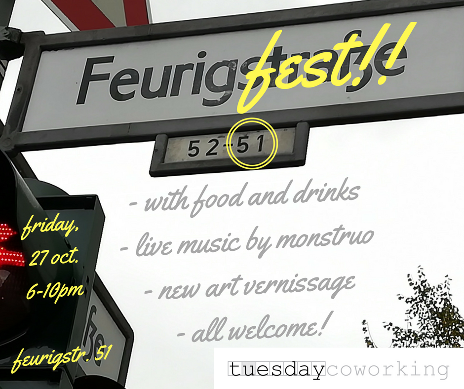 The 1st Ever Feurigfest (+ win 2 weeks of free coworking at tuesday) 1