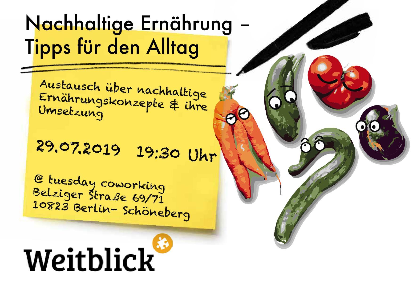 """""""Konsumfähig"""" - Eine Infoveranstaltung zu nachhaltiger Ernährung 1"""