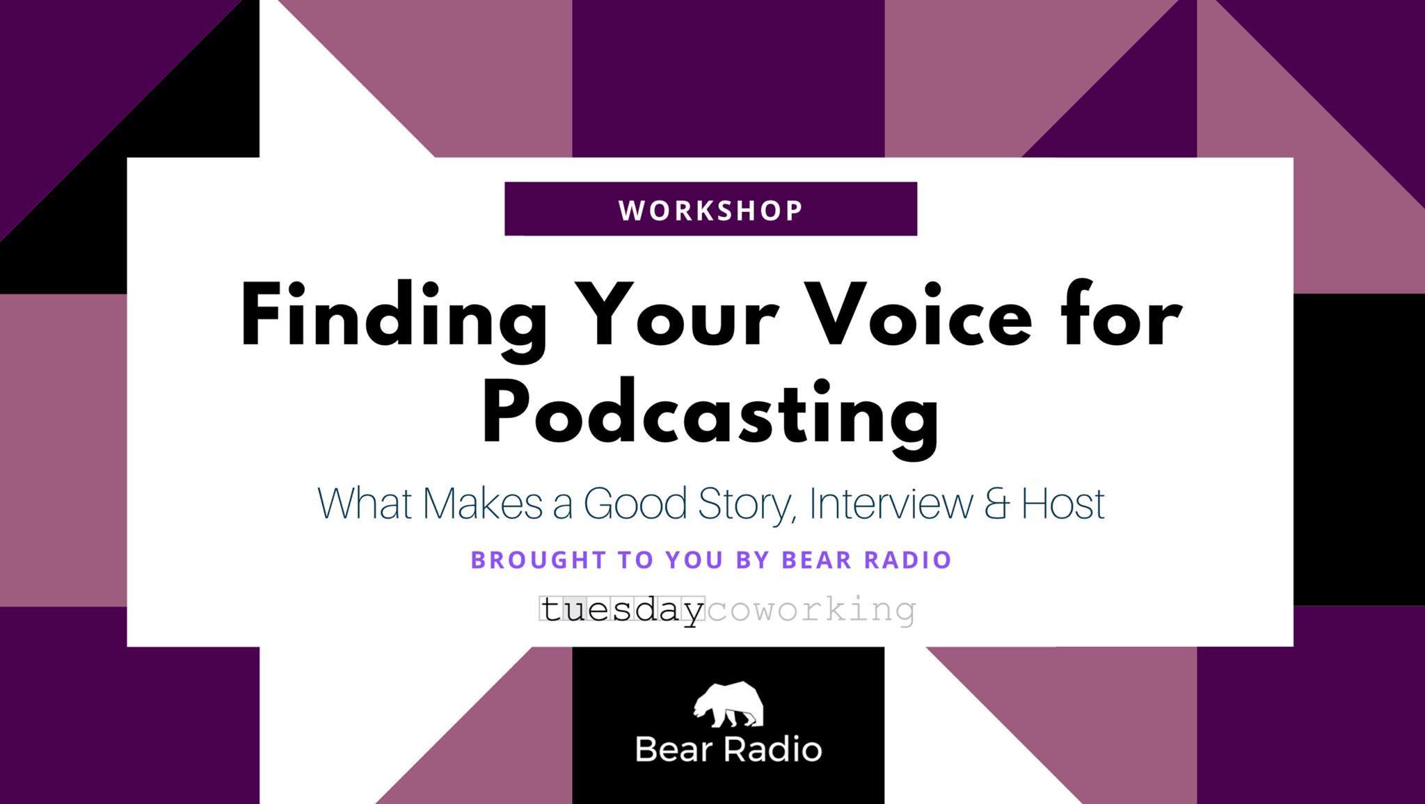 Podcasting banner