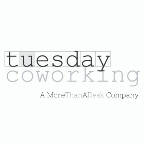 tuesday coworking Ltd new logo for MoreThanADesk