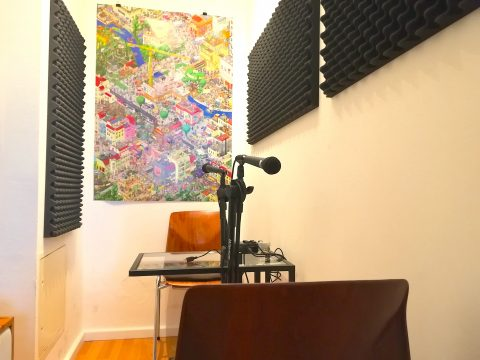 Podcasting Studio at tuesday