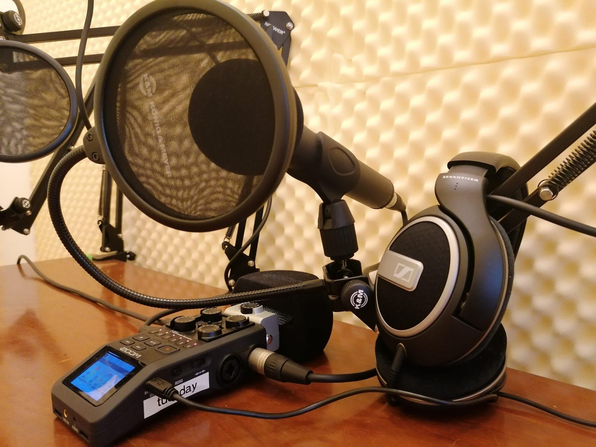 Podcasting Equipment at tuesday coworking