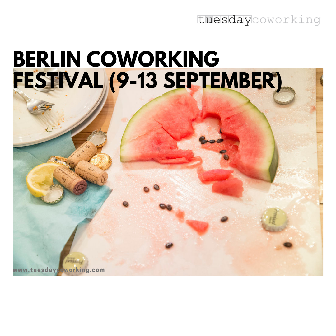Berlin Coworking Festival (tuesday edition) 1