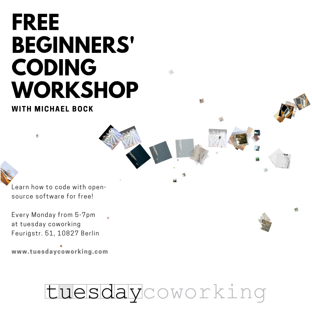 Free Open-Source Coding Workshop 1